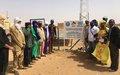 Gao : La MINUSMA fournit l'accès à l'eau potable à la population de Djebock