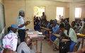 La MINUSMA présente sa police (UNPOL) aux élèves
