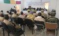 Tombouctou : Processus de cantonnement et DDR au Mali, la MINUSMA continue à promouvoir son appropriation