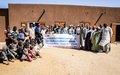 Réhabilitation de l'école de Farandjirey par la MINUSMA