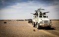 Arrivée des premières unités de l'Armée reconstituée à Kidal : l'appui déterminant de la MINUSMA