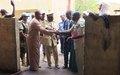 La MINUSMA fournit un nouveau générateur à l'hôpital d'Ansongo
