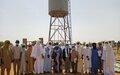 Appui de la MINUSMA dans la Région de Gao : de l'eau potable pour les habitants de Kadji