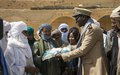 Les habitants de Koigouma célèbrent avec l'ONU le retour de réfugiés maliens