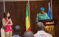 Transcript de l'intervention de Madame Zainab Hawa Bangura Lors de la Conférence de Presse hebdomadaire de la MINUSMA.