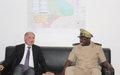Visite du nouveau Gouverneur de Mopti au Bureau Régional de la MINUSMA