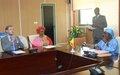 La MINUSMA participe au Renforcement de la Sécurité des locaux de la Cour Constitutionnelle