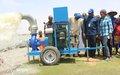 Tombouctou : La MINUSMA dote les exploitants de Toya d'une nouvelle motopompe