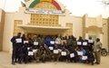 Les Forces de sécurité maliennes à Tombouctou mieux outillées dans le domaine du maintien de l'ordre
