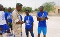 Tombouctou : La MINUSMA aux côtés des enfants  de militaires