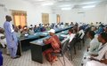 Taoudéni: Le mandat de la MINUSMA au centre des échanges avec des jeunes leaders