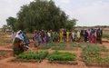 La MINUSMA finance l'aménagement de 8 hectares au bénéfice des habitants de Forgho