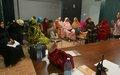 Soutenues par la MINUSMA, les femmes de Taoudéni et Tombouctou initient un atelier d'information sur leurs droits