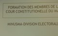 La MINUSMA renforce les connaissances des Membres  et du personnel de soutien de la Cour Constitutionnelle en matière d'informatique
