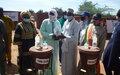 Covid-19: 4108 personnes dont 2100 ex-combattants de sept régions du Mali bénéficient de kits de lutte contre la pandémie