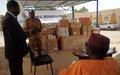La solidarité des Casques bleus envers les malades à Tombouctou