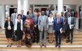 Une délégation des bailleurs du Fonds pour la Consolidation de la Paix salue la contribution des Nations Unies et de ses partenaires aux efforts de paix au Mali