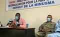 La MINUSMA explique sa mission aux populations de la commune V de Bamako
