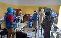 Protéger le personnel de la MINUSMA dans l'exécution de son Mandat, une tâche importante de la Police des Nations Unies au Mali
