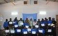 Les Forces de sécurités maliennes formées en droit pénal général à Mopti