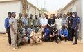 La MINUSMA renforce les capacités des Officiers de Police et de la Gendarmerie Nationale à Gao