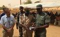 Gao : La MINUSMA offre pour près de 30 millions de francs CFA de matériel à la Police et la Gendarmerie Nationale