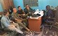 Gao : Visite de la Police des Nations Unies et de Diplomates Américains