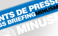 POINT DE PRESSE - JEUDI 25 Août 2016