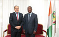SRSG for Mali Meets Ivory Coast President