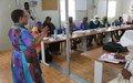 Kidal: Les partenaires de la MINUSMA formés pour mieux conduire les projets de réduction de violence communautaire  (CVR)