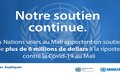 Response to Covid-19 in Mali: United Nations provides support amounting to over US$6 million