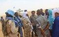 Tabankort : Une mission de la MINUSMA visite le site de cantonnement