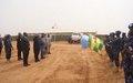 Décoration de l'unité de Police constituée (FPU) du Togo à Ménaka