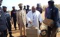 La MINUSMA lance les travaux de construction d'une infirmerie au profit de la Direction Régionale de la Protection Civile à Gao