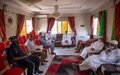 Visites du RSSG ANNADIF aux leaders religieux et aux familles fondatrices de Bamako
