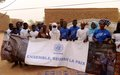 A Gao, la Résolution 2295 et l'Accord pour la Paix sont au cœur des échanges entre la MINUSMA et la société civile